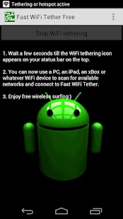 Fast WiFi Tether Free - screenshot thumbnail