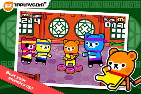 Tappi Bear - Kungfu Battle