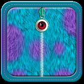 Monster Fur Zipper Lock