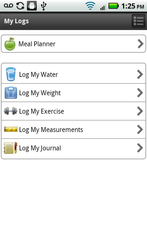 Nutrisystem - screenshot
