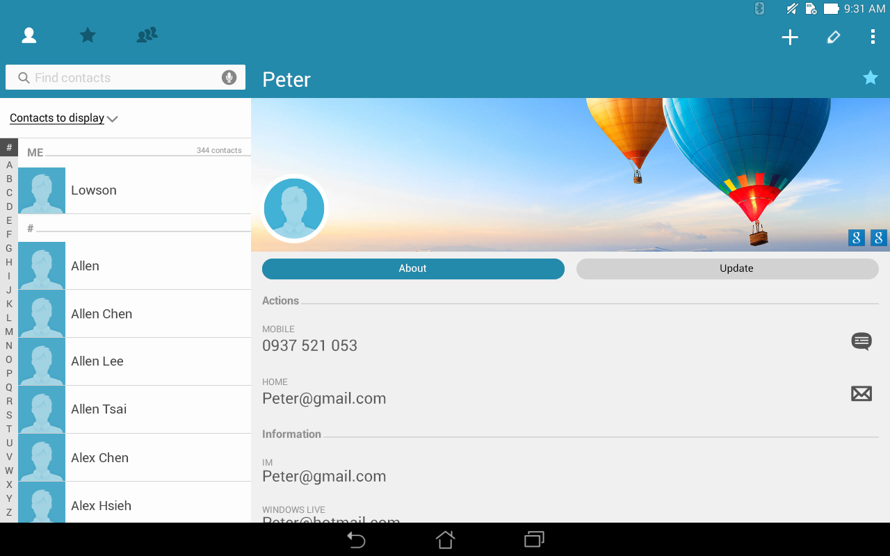 asus dialer amp contacts   android apps on google play