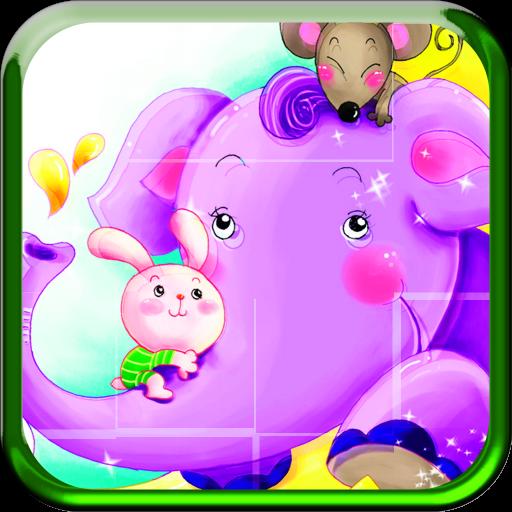 動物樂園兒童拼圖 益智 App LOGO-APP試玩