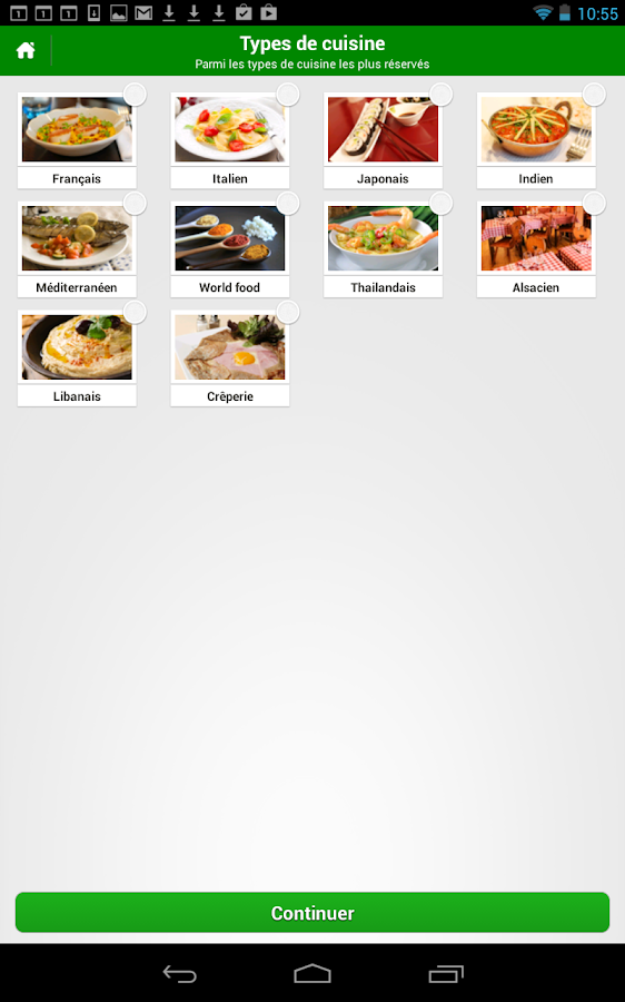 TheFork - Restaurants - screenshot