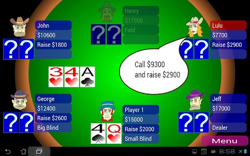 Offline Poker Texas Holdem- screenshot thumbnail