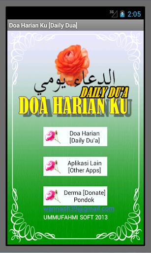 My Daily Du'a Doa Harian Ku