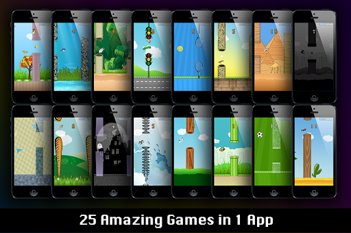 25 Flappy Games : 25 In 1