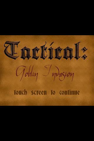 Tactical: Goblin Invasion- screenshot