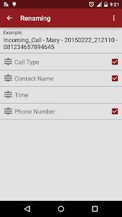 RMC: Android Call Recorder- screenshot thumbnail