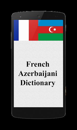 French -Azerbaijani Dictionary