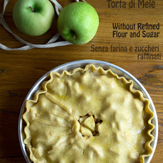 Apple Pie {Without Refined Flour and Sugar}