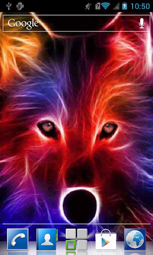 Sparkling wolf LWP