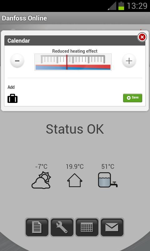 Danfoss Online - screenshot