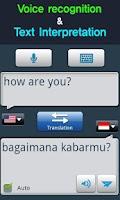 Screenshot of RightNow Indonesian Convo.