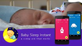 screenshot of Baby Sleep: White noise lullabies for newborns