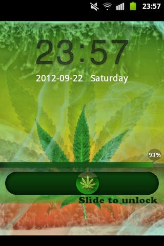 GO Locker Theme Ganja - screenshot