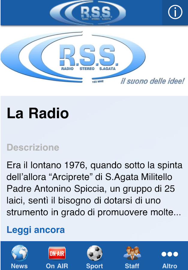 Radio Stereo S.Agata- screenshot