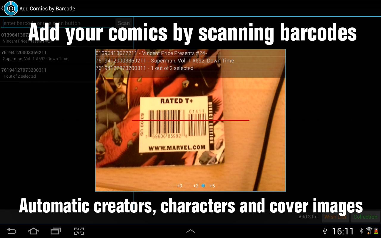 CLZ Comics - Comic Database- screenshot