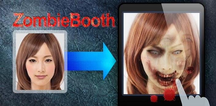ZombieBooth - скачать прикол для android преврати свои фото и фото друзей в Зомби
