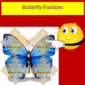 Butterfly Fractions - Free icon