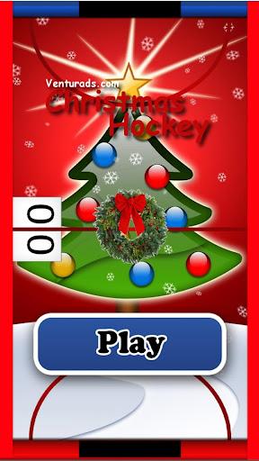 圣诞曲棍球