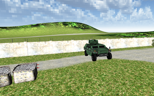 Bullet Proof Army 4x4 Machine