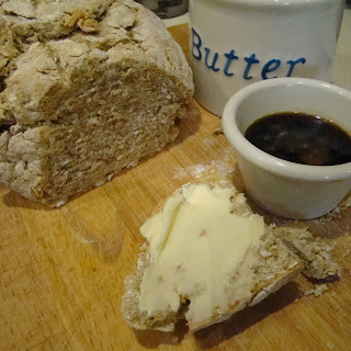 Irish Soda Bread and Guinness Dipping Sauce