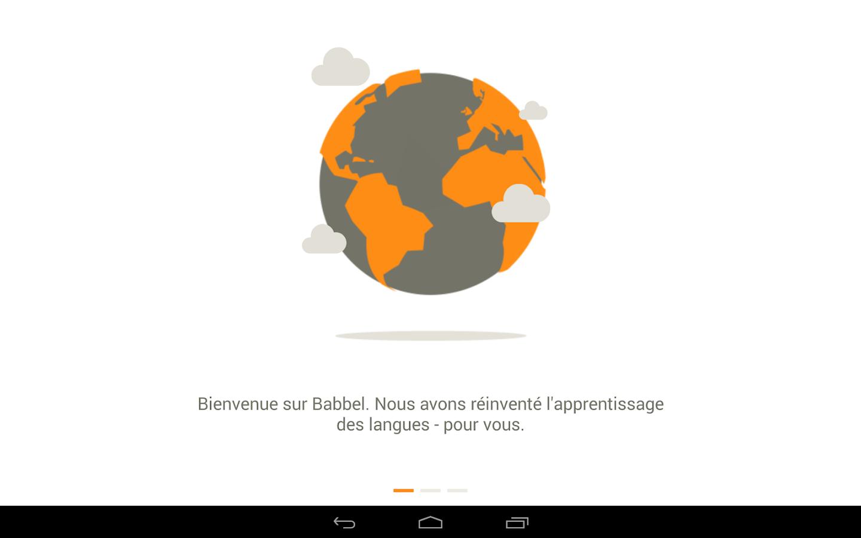 Babbel Apprendre Une Langue Applications Android Sur