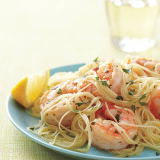 Lemony Shrimp Scampi.