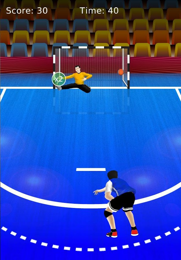 handball games- screenshot