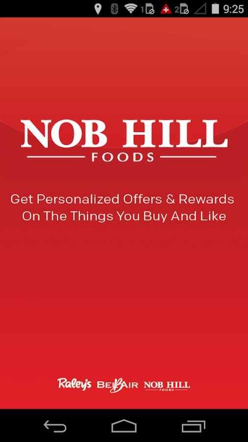 Nob Hill Foods- screenshot