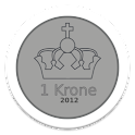 Kronespillet Adfree logo