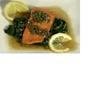Wild Sockeye Salmon Piccata
