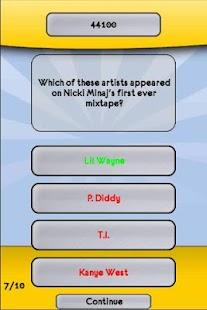 Nicki Minaj Music Trivia Quiz