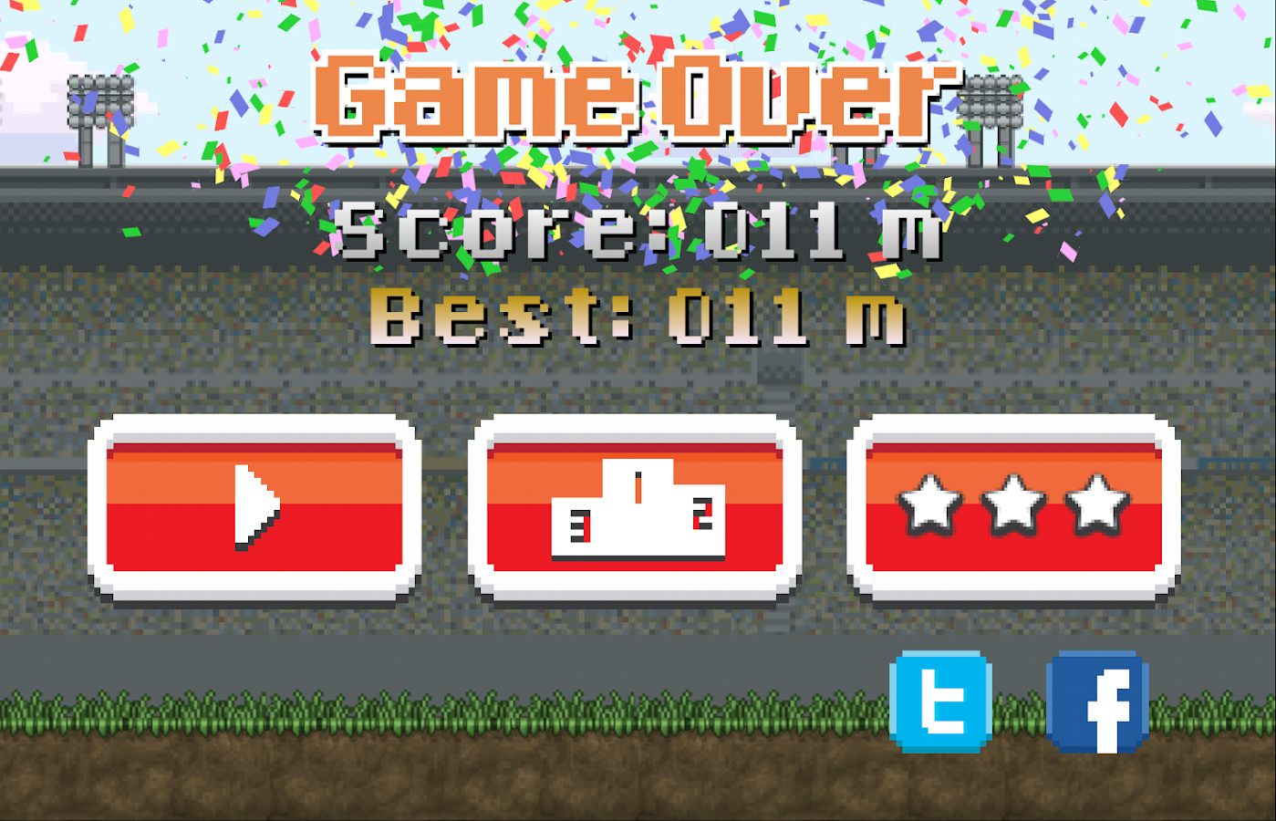 Tokeball - Social Retry Soccer- screenshot