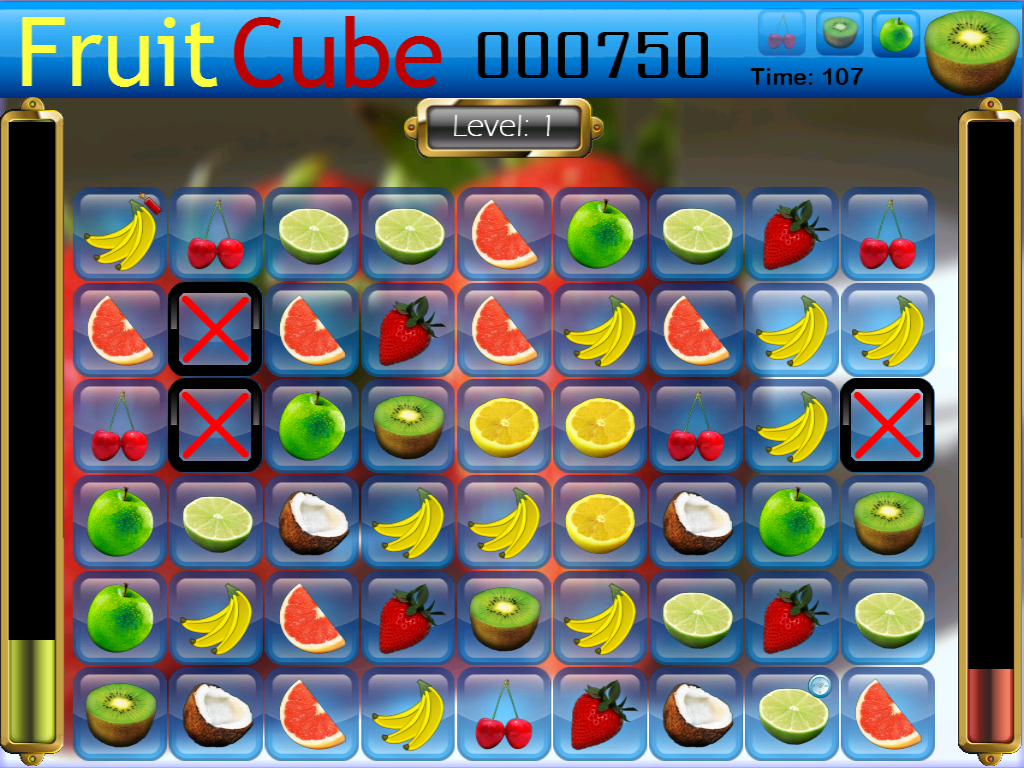 Fruit Cube- screenshot