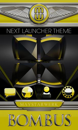 Next Launcher Theme Bombus