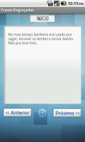 Screenshot of Frases Engraçadas - Hahaha