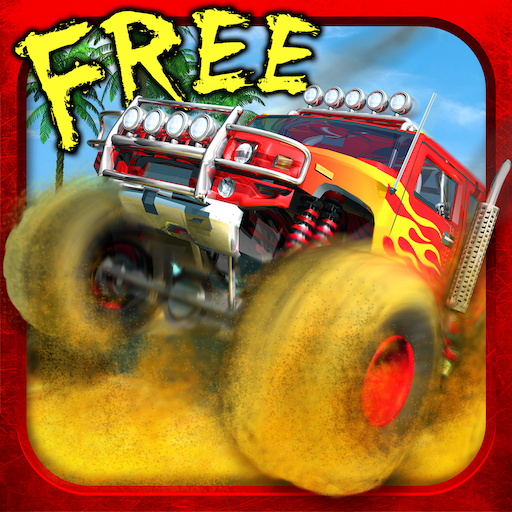 MONSTER TRUCK RACE GAME LOGO-APP點子