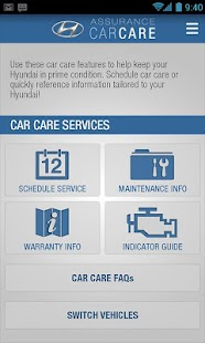 Hyundai Car Care - screenshot thumbnail
