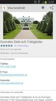 Screenshot of Sök Turistmål.se