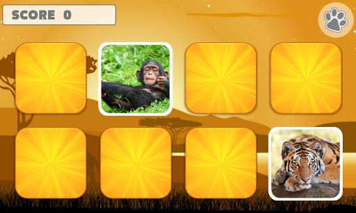 Animal Memory Games for Kids