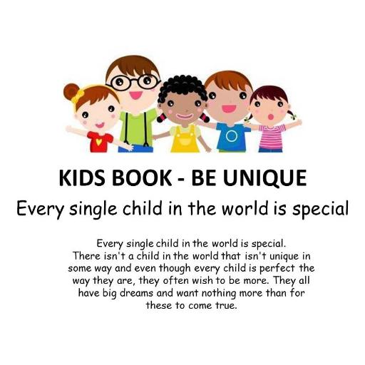 KIDS BOOK - Be Unique