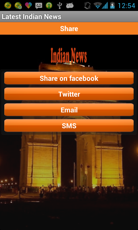 Latest Indian News- screenshot