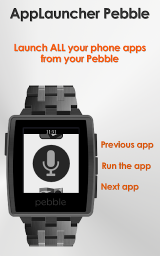 AppLauncher for Pebble