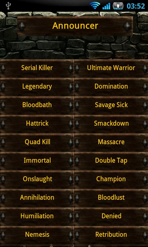 HoN SoundBoard - Full - screenshot