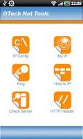 Screenshot of GTech Network Tools