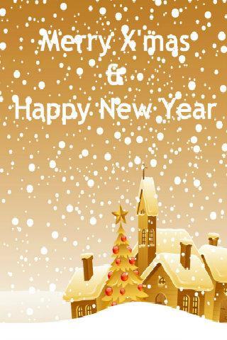 Christmas Wallpaper Greeting