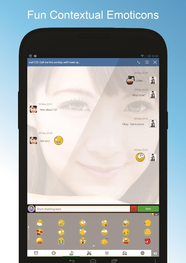 DroidMSG+ - Chat & Video Calls- screenshot