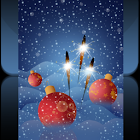 Snow and Ornaments icon