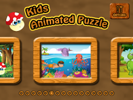 Screenshot of Kids Animated Puzzle